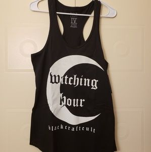 Witching Hour tank top gothic witchy occult